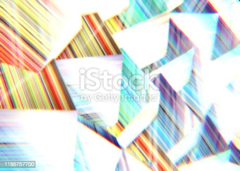 486534722istockphoto Abstract background of multi-colored cubes 1195757700