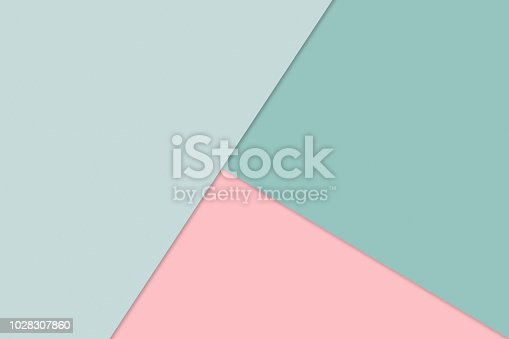 Overlapping sheets of paper in pastel colors. Abstract Material Design Wallpaper for layout.