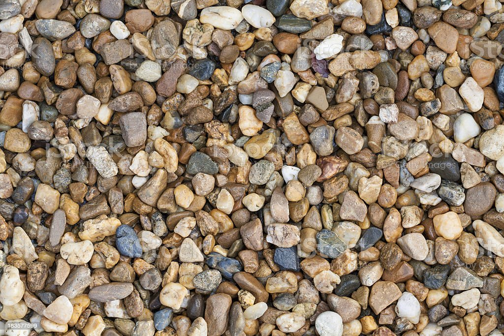 Abstract background of pebble stones royalty-free stock photo