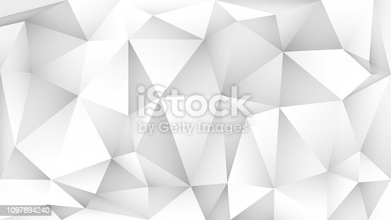 Abstract background of polygons