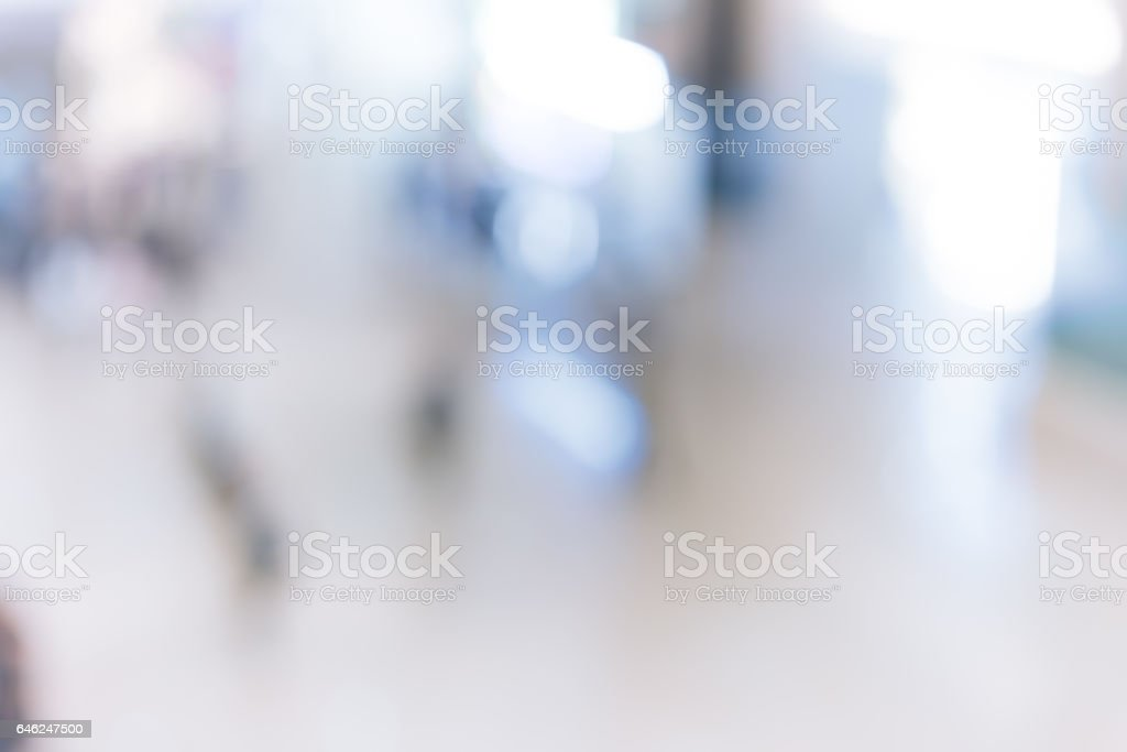 Abstract background of shopping mall stock photo