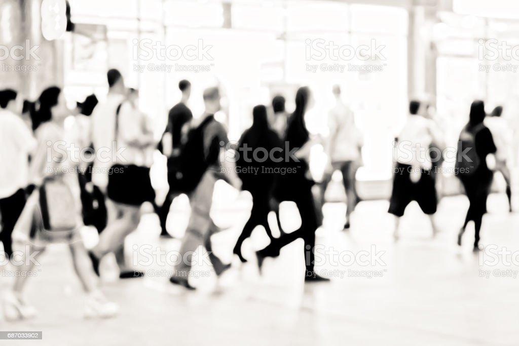 Abstrakt Hintergrund mit shopping mall  Lizenzfreies stock-foto
