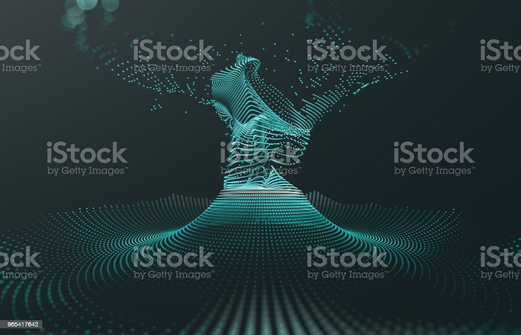 Abstract background of technology, science and cloud computer royalty-free stock photo