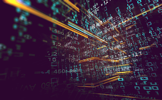 Abstract Background Of Technology Science And Cloud Computer3d Illustrationn Stock Photo - Download Image Now