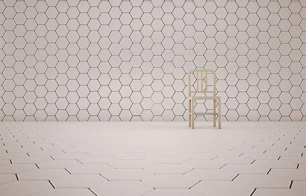 abstract background of the chair on white mesh grid - tron sci fi bildbanksfoton och bilder