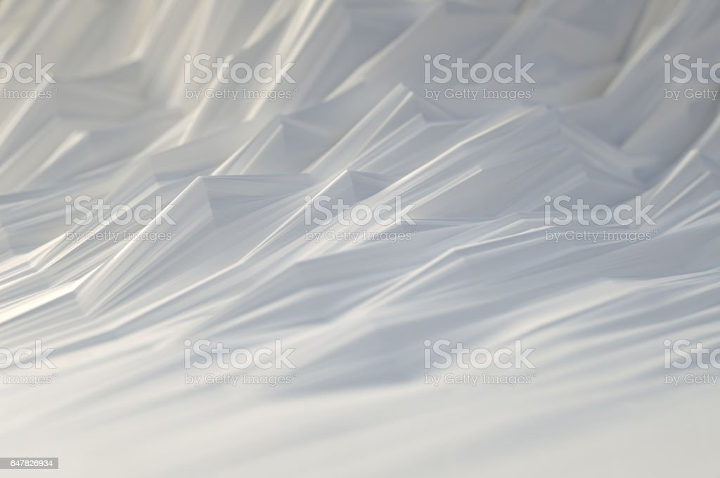 Abstract Background Paper Waves vector art illustration