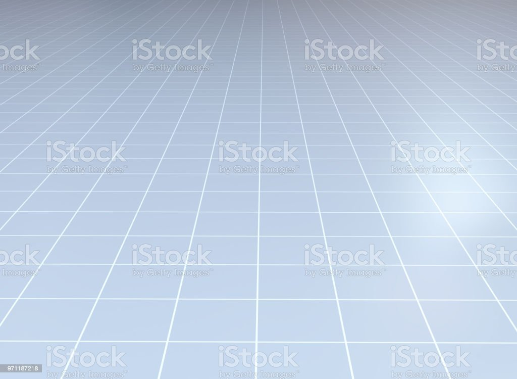 Abstract background. Perspective tiled floor. stock photo