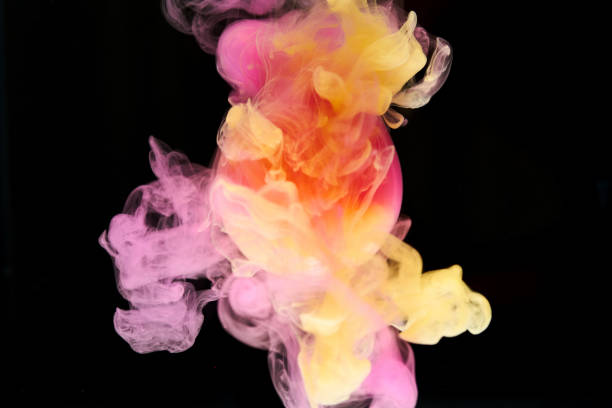 abstract background Ink in water abstract background wading stock pictures, royalty-free photos & images