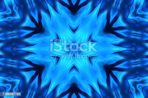 Abstract blued background.