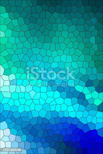 abstract background in blue, light blue,dark blue, green, grey