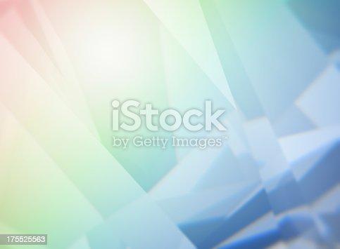 Abstract diamond refraction background.Similar photos: