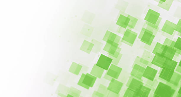 abstract background - green background stock photos and pictures