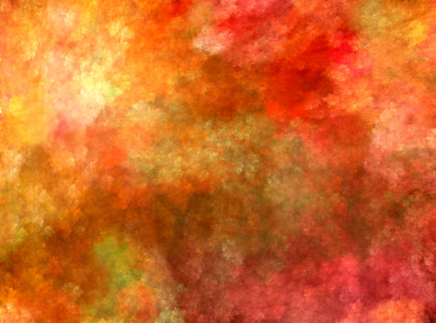 abstract background - impressionist painting stock photos and pictures