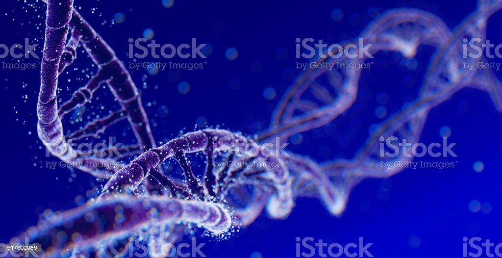 DNA Abstract Background stock photo