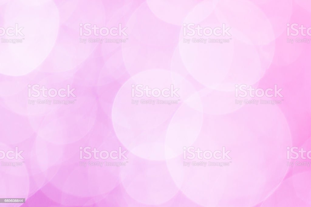 abstract background pink bokeh circles for Christmas background 免版稅 stock photo
