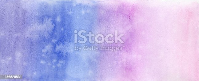 istock Abstract background pirple violet watercolor 1136828831