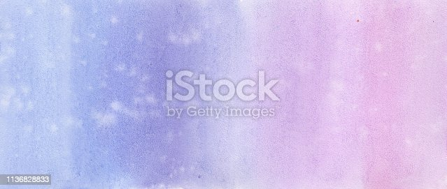 istock Abstract background pirple violet watercolor 1136828833