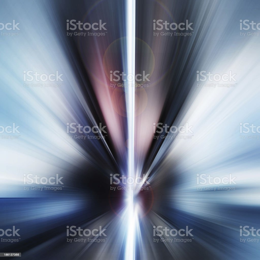 Abstract Background - rays of colorful light royalty-free stock photo