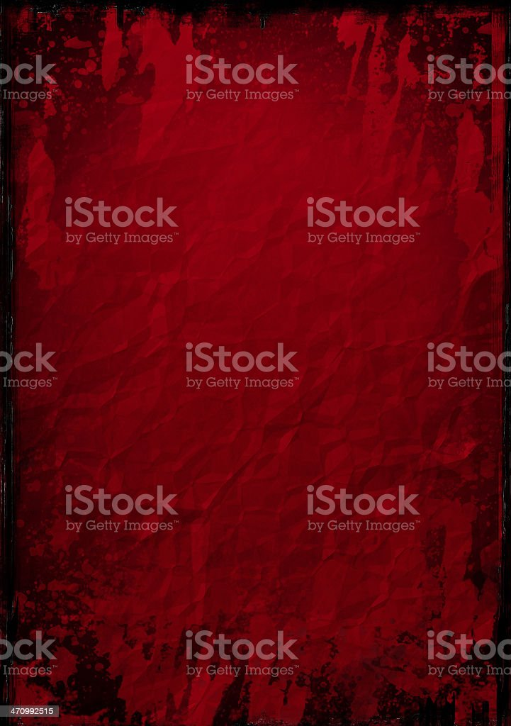 Abstract Background - Red Grunge stock photo