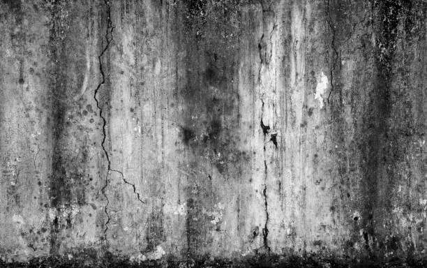 Zusammenfassung Hintergrund unheimlich alt Betonmauer und gerissenen Beton – Foto