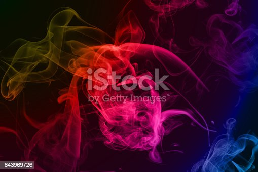 Abstract Wallpaper, Background, Smoke and Curve