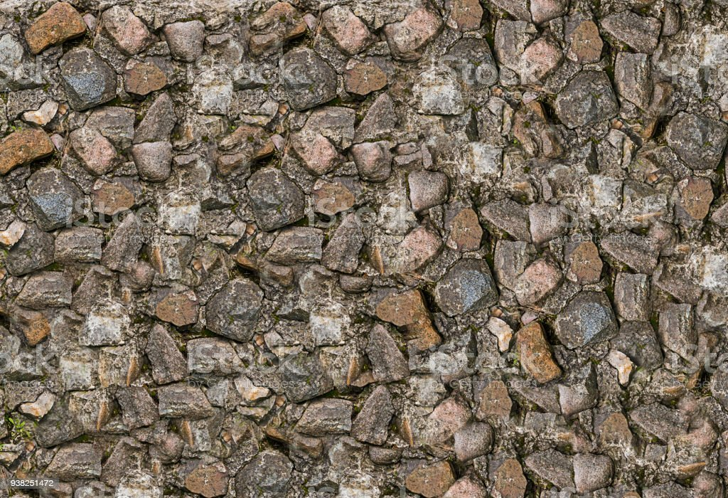 Abstract background stone small smooth multicolor uneven natural base background stock photo