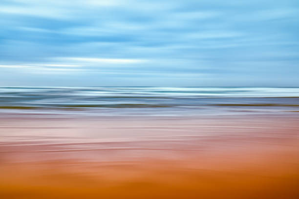 Abstract background, sunny day on the beach stock photo