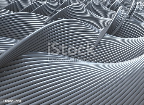 abstract background surface 3d rendering