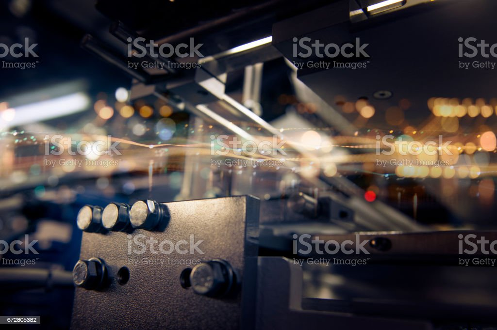 abstract background. Technology and factory production. – Foto