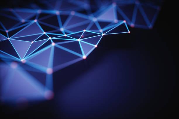abstract background technology connection - scienza e tecnologia foto e immagini stock