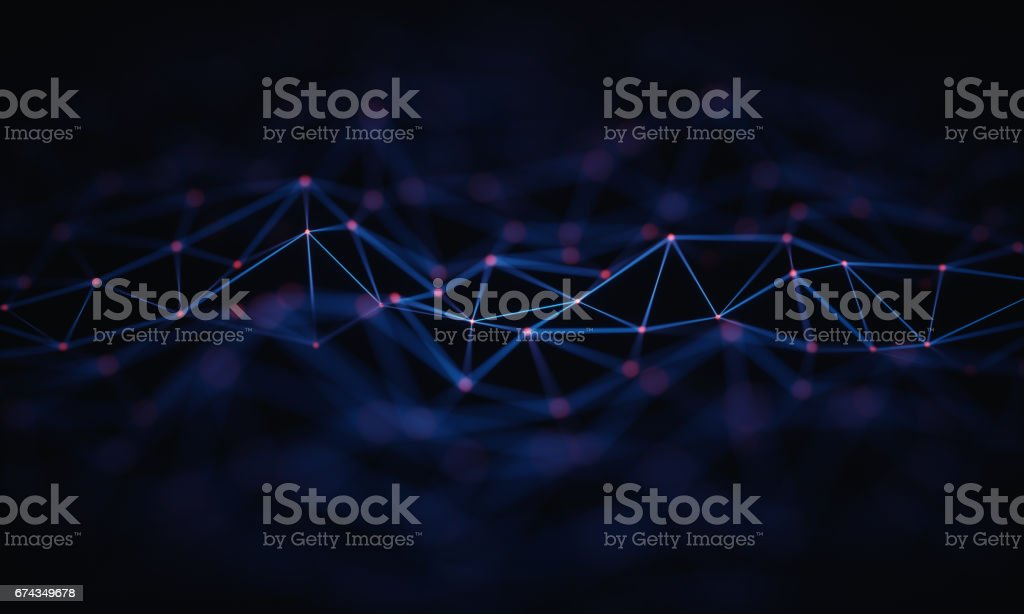 Abstract Background Technology Connection stock photo