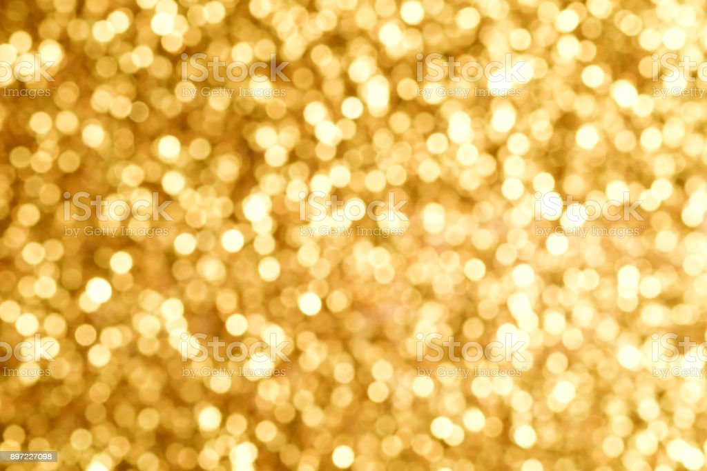 Abstract background texture Gold Glitter and elegant for Christmas stock photo