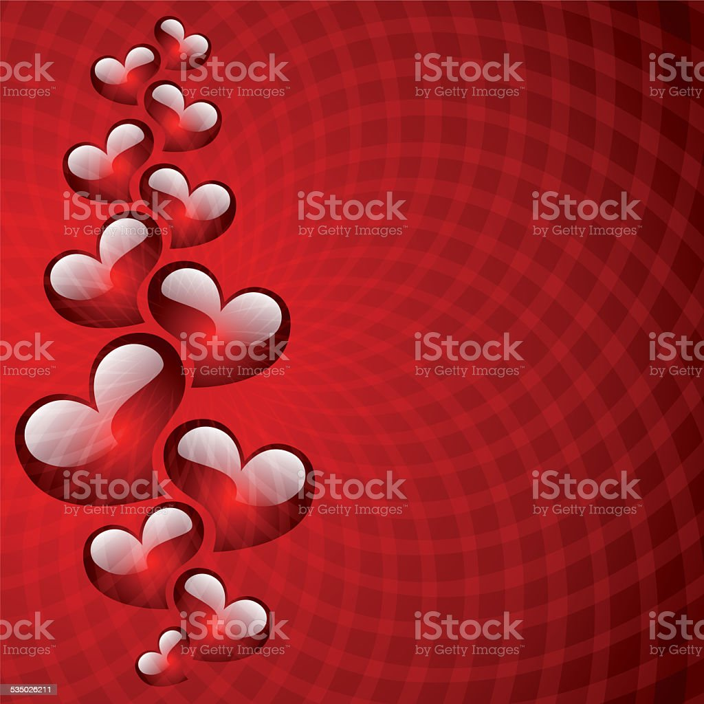 Abstract background to the Valentines day. stock photo