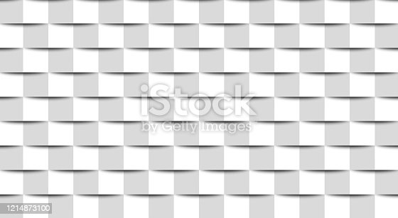 istock Abstract background - wall from square graphic elements 1214873100