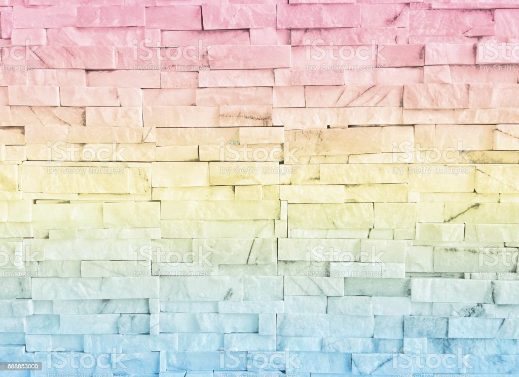 abstract background wall is out of focus blur made with pastel color
