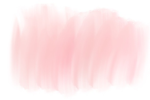 Abstract background watercolor gradient pink pastel with smudge strokes and splashes.
