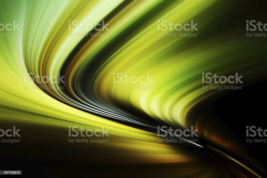 Abstract Background - wave of colorful light stock photo