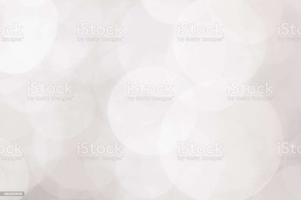 abstract background white  bokeh circles for Christmas background Lizenzfreies stock-foto