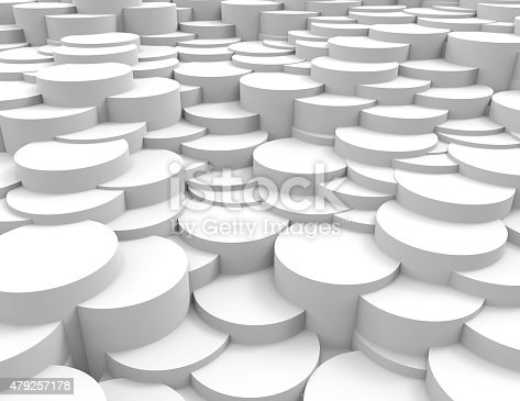 istock abstract background white circles 479257178