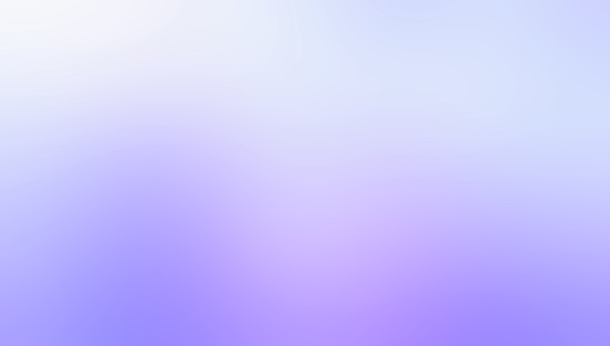 Abstract Background, White - Light Blue - Purple Color Gradient, Defocused