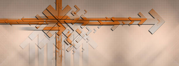Abstract Background with Arrows 10 stock photo