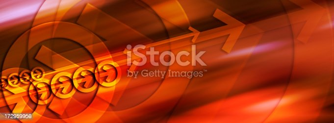istock Abstract Background with Arrows 2 172959956