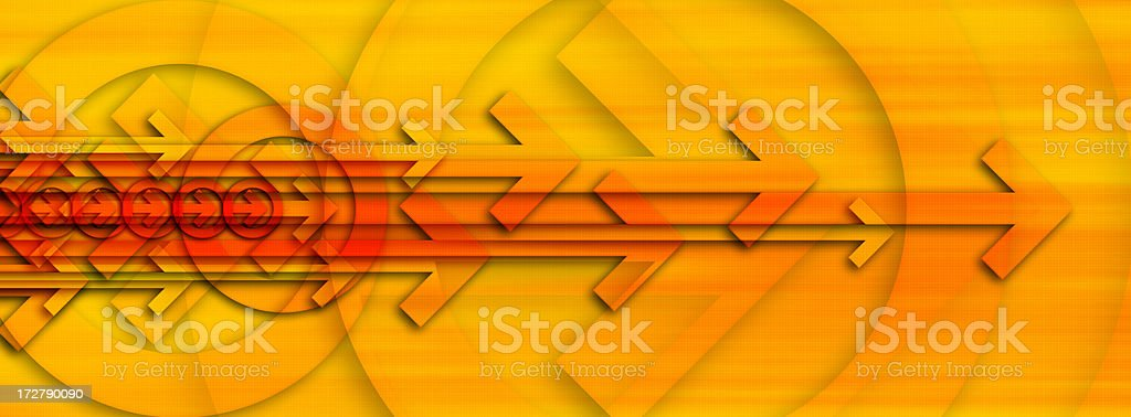 Abstract Background with Arrows 4 royalty-free stock photo