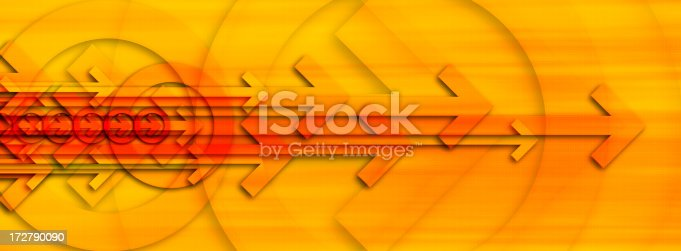 istock Abstract Background with Arrows 4 172790090