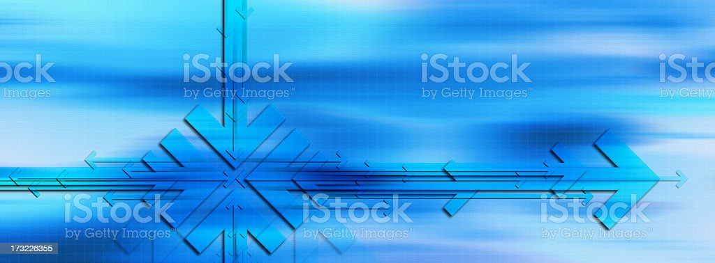 Abstract Background with Arrows 9 royalty-free stock photo