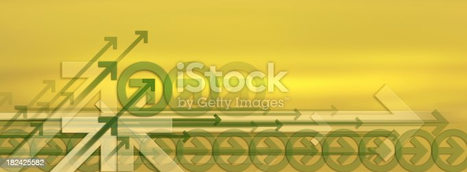 istock Abstract Background with Arrows 182425582