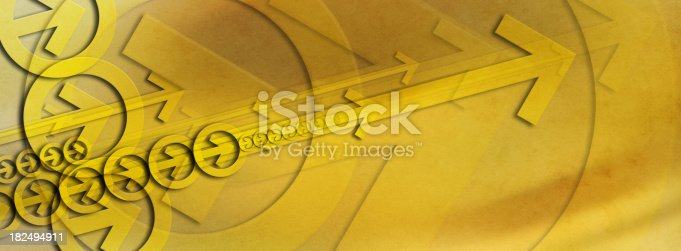 istock Abstract Background with Arrows 182494911