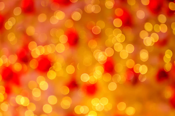 abstrakt hintergrund mit bokeh für weihnachten und neujahr - weihnachten de stock-fotos und bilder