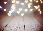 abstract background with bokeh light
