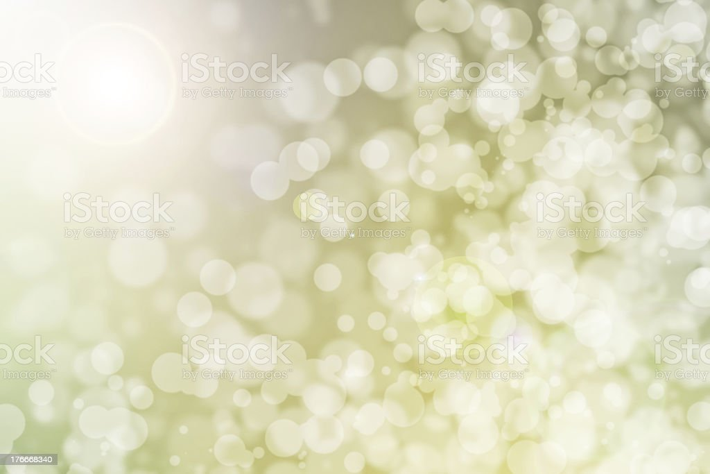 Abstract background with bokeh royalty-free stock photo